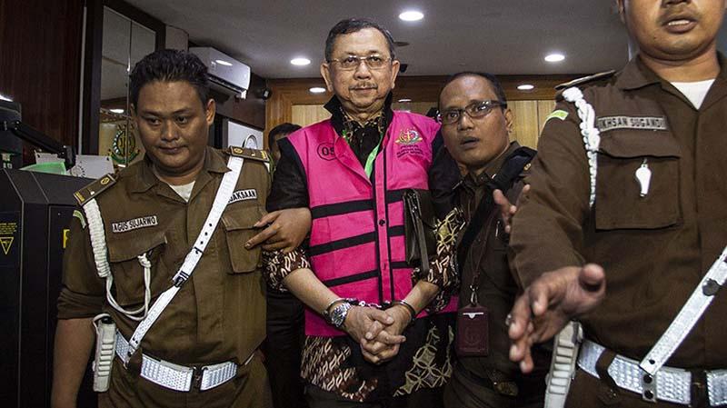 Mantan Dirut Jiwasraya Hendrisman Rahim Ikut Ditahan Kejagung