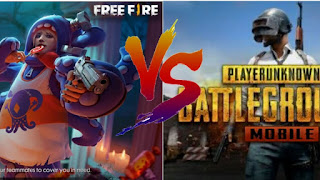 PUBG Mobile VS Garena Free Fire |  Which is better?