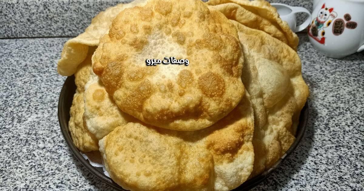 الخبز البوري مع الخميرة