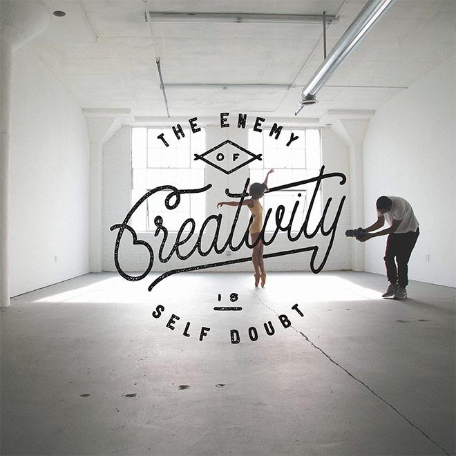 Inspirasi desain tipografi terbaik dan terbaru - Lettering Set by Noel Shiveley & Alex McDonell