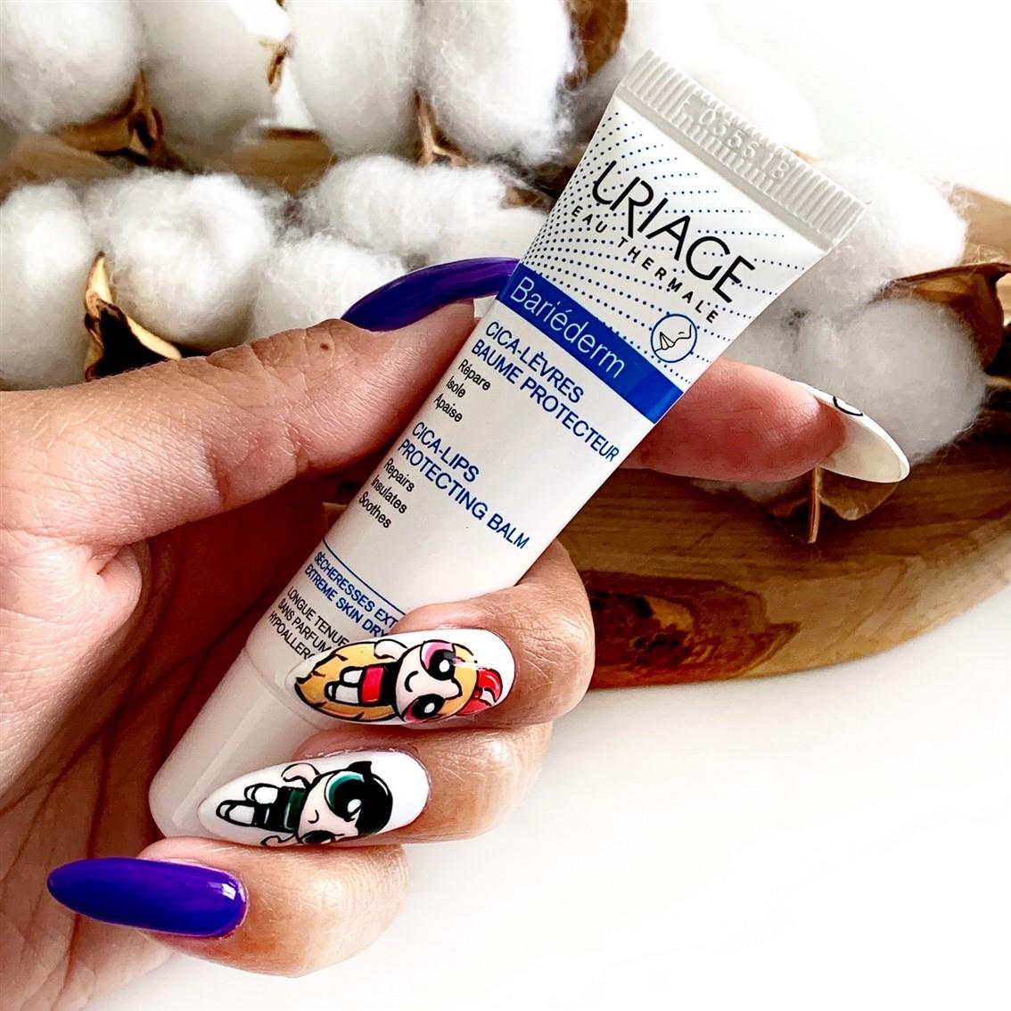 Uriage Bariederm Cica-Lips Protecting Balm ochronny balsam do ust