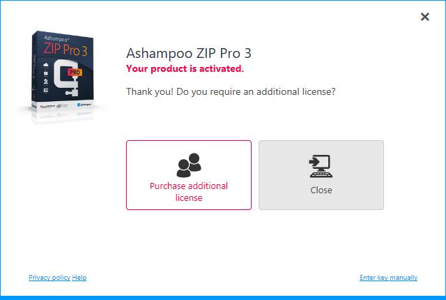 Ashampoo zip pro crack download