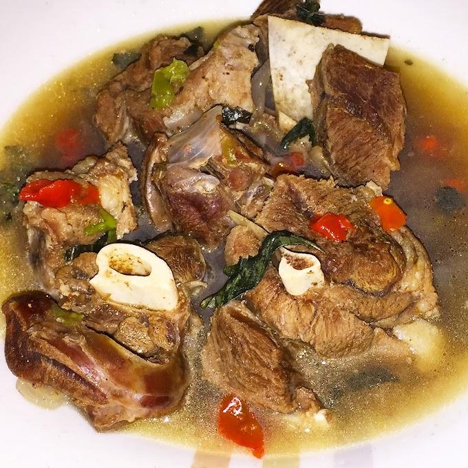 Healthy Nigerian Goat Pepper Soup Recipe