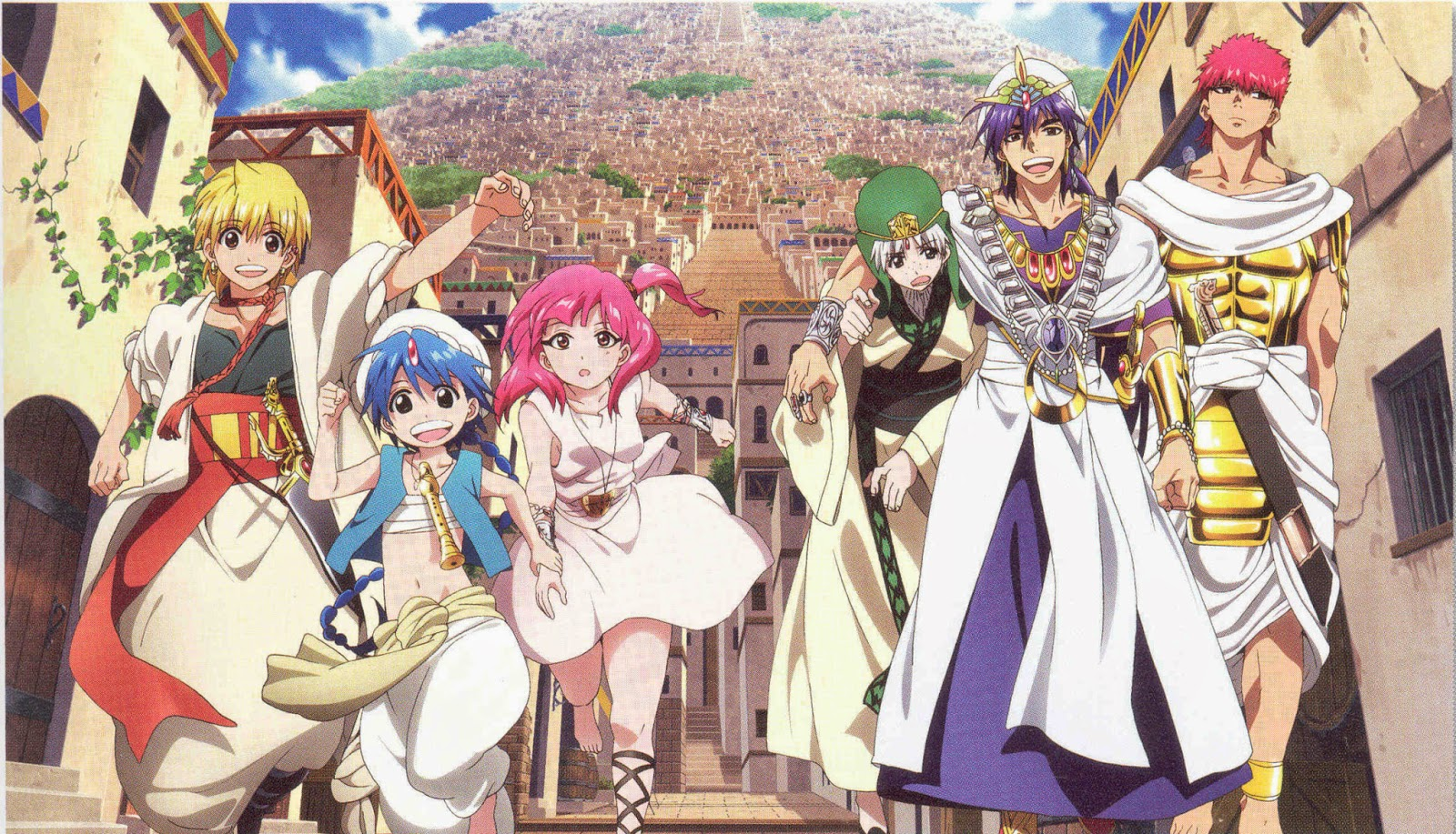 Magi the labyrinth of magic episode 23 sub indo / Tortugas ninja