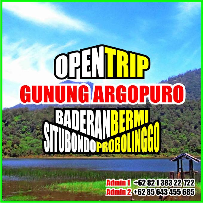 Open Trip 2021 Gunung Argopuro Jaluran Baderan - Bremi
