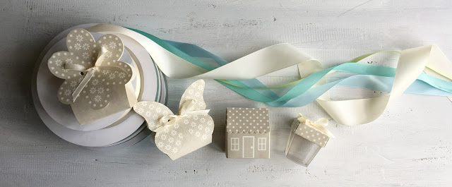 Creative Savings deal - ribbons and favour boxes