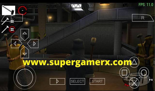400 MB Gangs Of London PSP Game Highly Compressed File