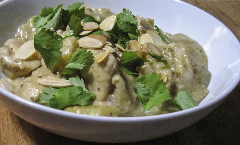 Creamy Turkey Curry