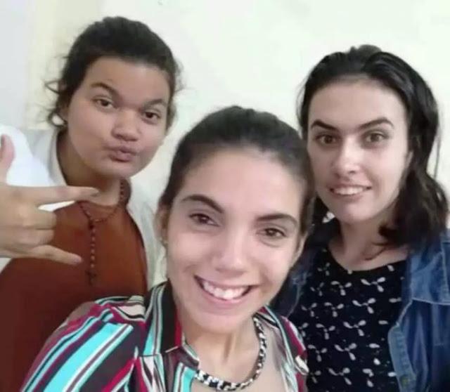 As três adolescentes que estão desaparecidas há quase uma semana em Nova Alvorada do Sul (Foto: Divulgação) -