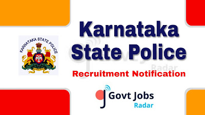 KSP Recruitment Notification 2019, KSP Recruitment 2019, govt jobs in Karnataka, Karnataka govt jobs, Latest KSP Recruitment notification update