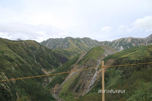 立山高原バスからの眺め