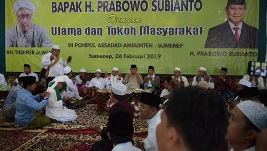 Beredar Video Prabowo 'Marah ke Ulama' di Sumenep, Ini Penjelasan BPN