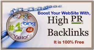 Cara Mendapatkan Backlink Dofollow PR Tinggi Gratis