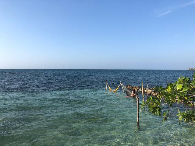 vista al mar abierto