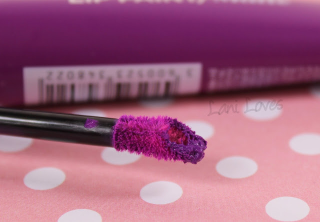 L'Oreal Lip Paint Matte - Wuthering Purple Swatches & Review