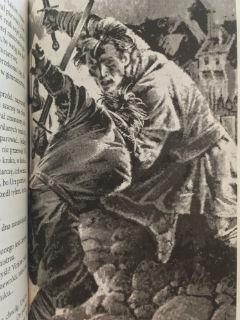 """rewelacyjne ilustracje, tym razem Vladimira Nenova, """"Virion. Adept"""" Andrzej Ziemiański, fot. paratexterka ©"""