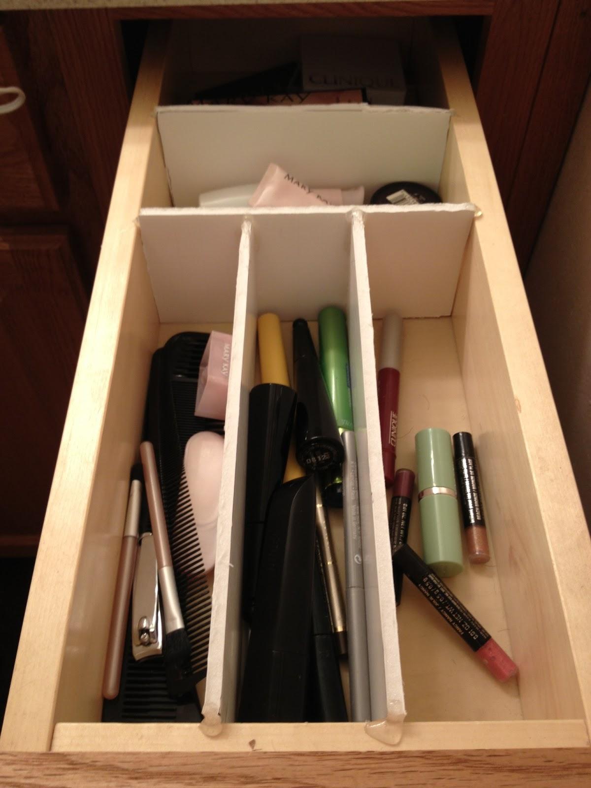 DIY Teen DIY Cheap Drawer Organizer