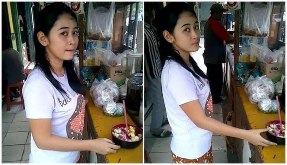 Penjual Es Buah Cantik (boombastis.com)