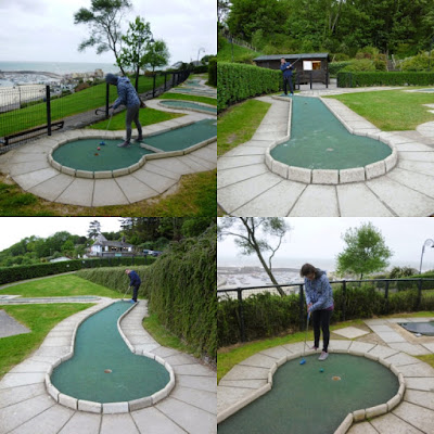 Mini Golf at Lister Gardens in Lyme Regis, Dorset
