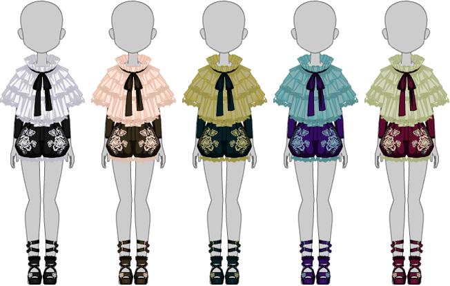 Victorian Flair Set - Female