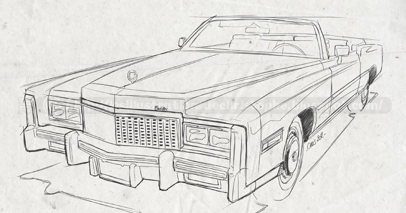 Les illustrations de christophe: Cadillac Fleetwood