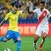 Brasil busca su noveno título ante un Perú inspirado