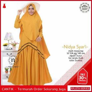 Jual RRJ278S108 Set Nidya Syari Wanita Mc Terbaru Trendy BMGShop