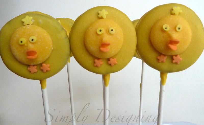 Chick Cake Pops Bakerella