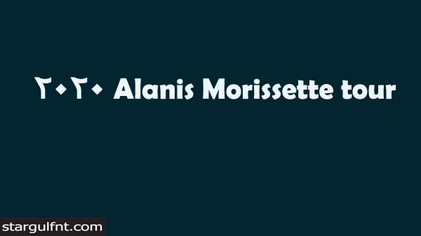 Alanis Morissette tour 2020