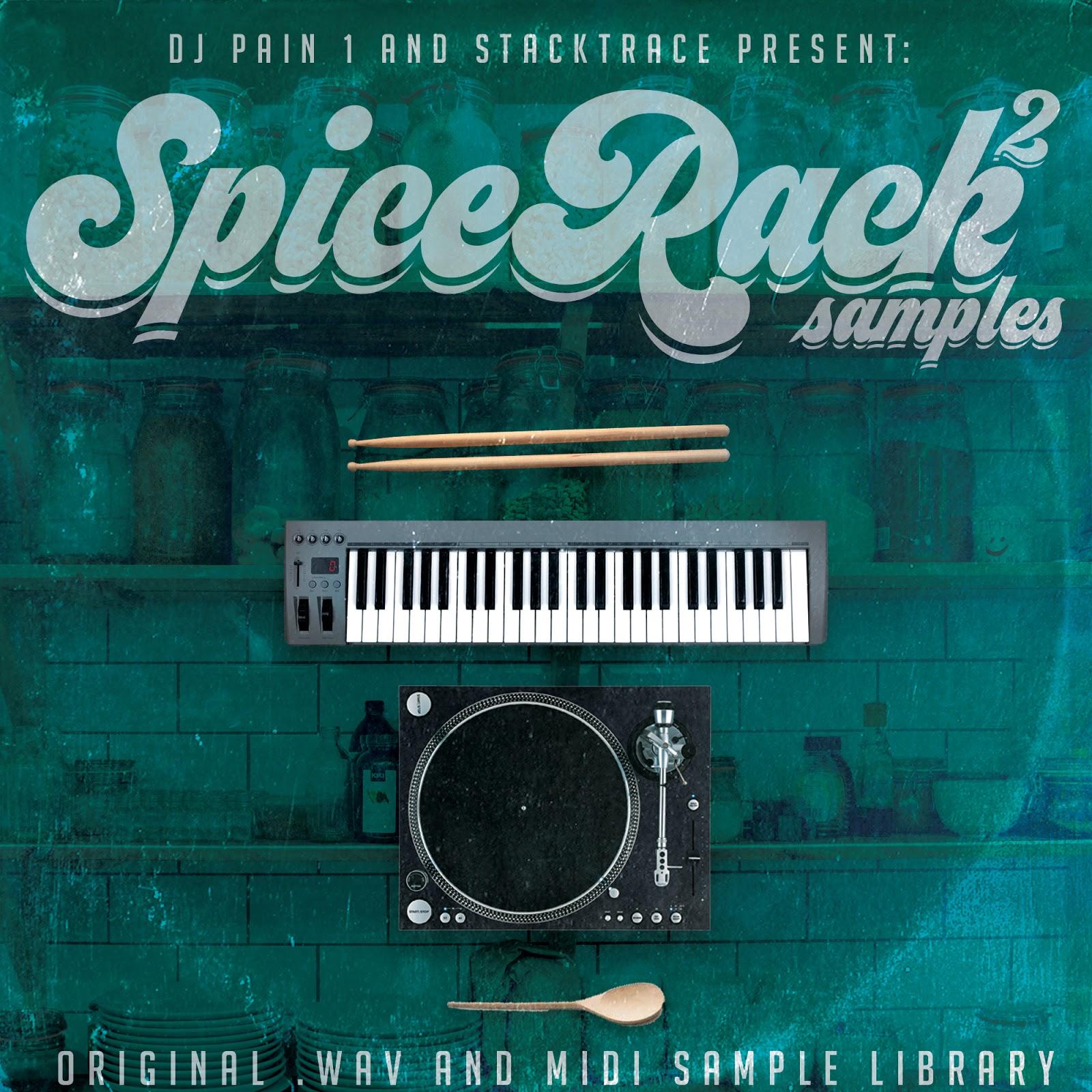 DJ Pain 1: Free Sample Packs 2019 - Spice Rack Samples - Free MIDI