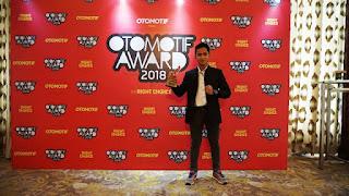 Galang Hendra Pratama Raih Penghargaan Pembalap Motor Terbaik