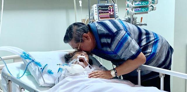 Ibunda Masuk ICU, SBY: Kami Sekeluarga Mohon Doa