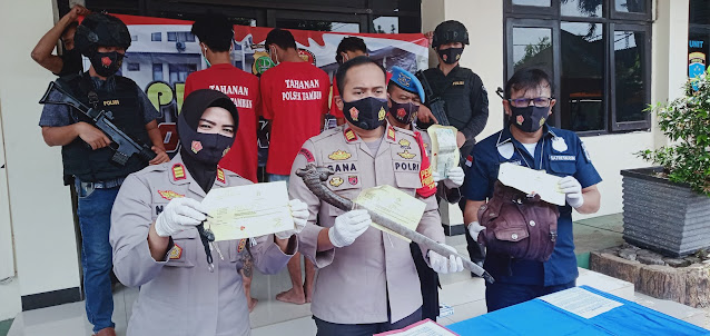 Unit Reskrim Polsek Tambun Berasil Bekuk Komplotan Begal