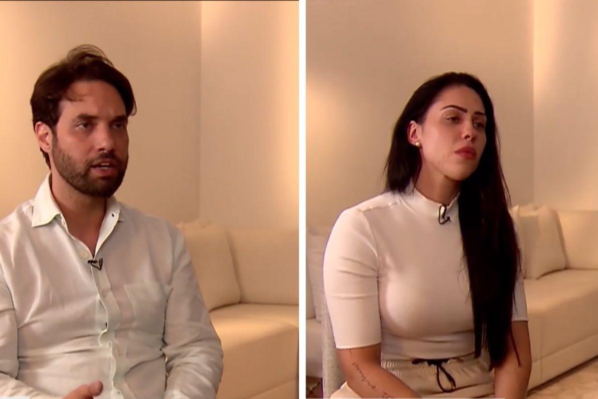 Vereador Jairinho (sem partido) e Monique. Foto/Reprodução: Vídeo R7