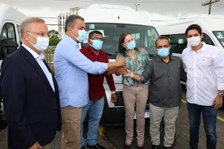 Iramaia e mais 33 municípios recebem Vans do Consórcios Interfederativos de Saúde
