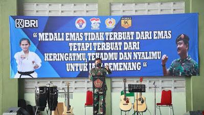 Panglima TNI Bersama Kapolri Tinjau Pelatnas Karate di Bali