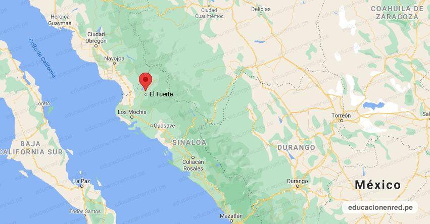Temblor en México de Magnitud 4.8 (Hoy Domingo 22 Agosto 2021) Sismo - Epicentro - El Fuerte - Sinaloa - SIN. - SSN - www.ssn.unam.mx