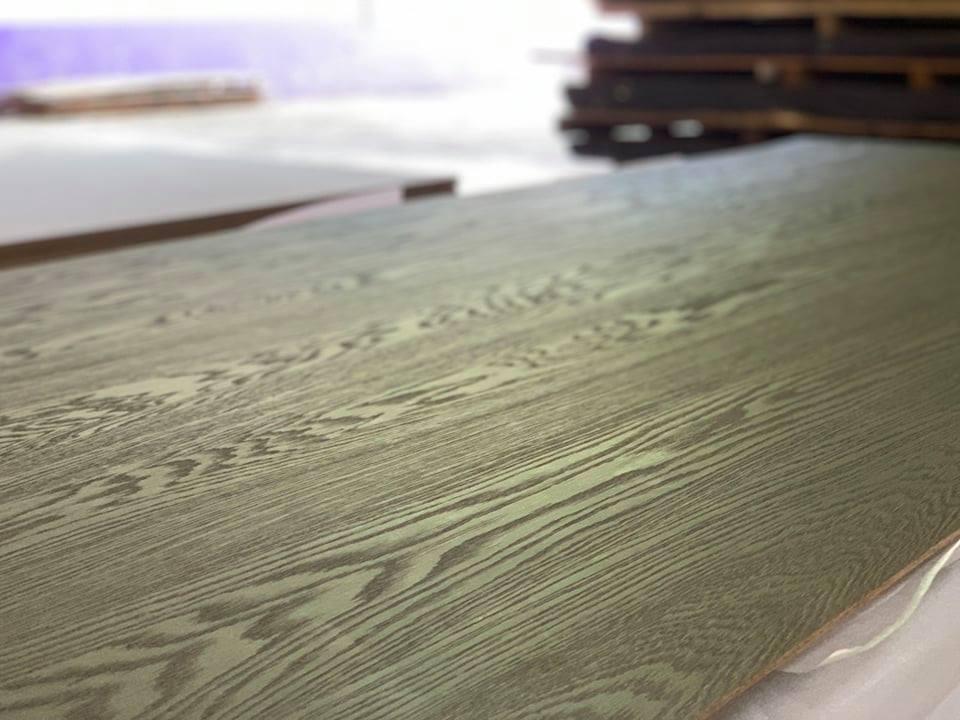天然木皮板、塗裝板