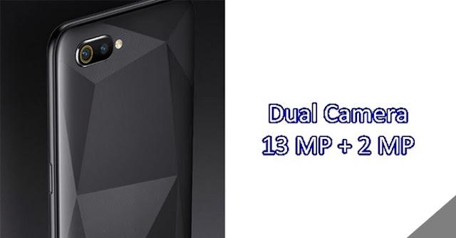dual kamera realme c2