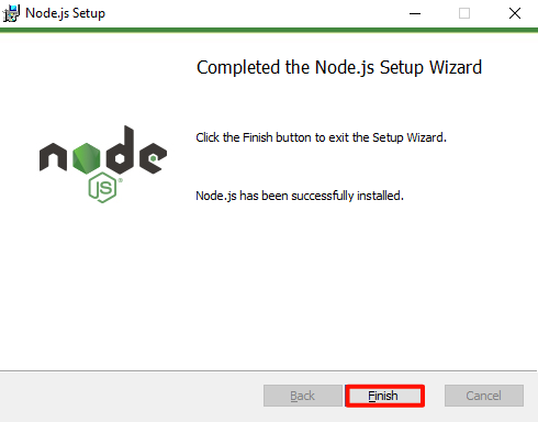 Node.js download and installation tutorial for Windows 10