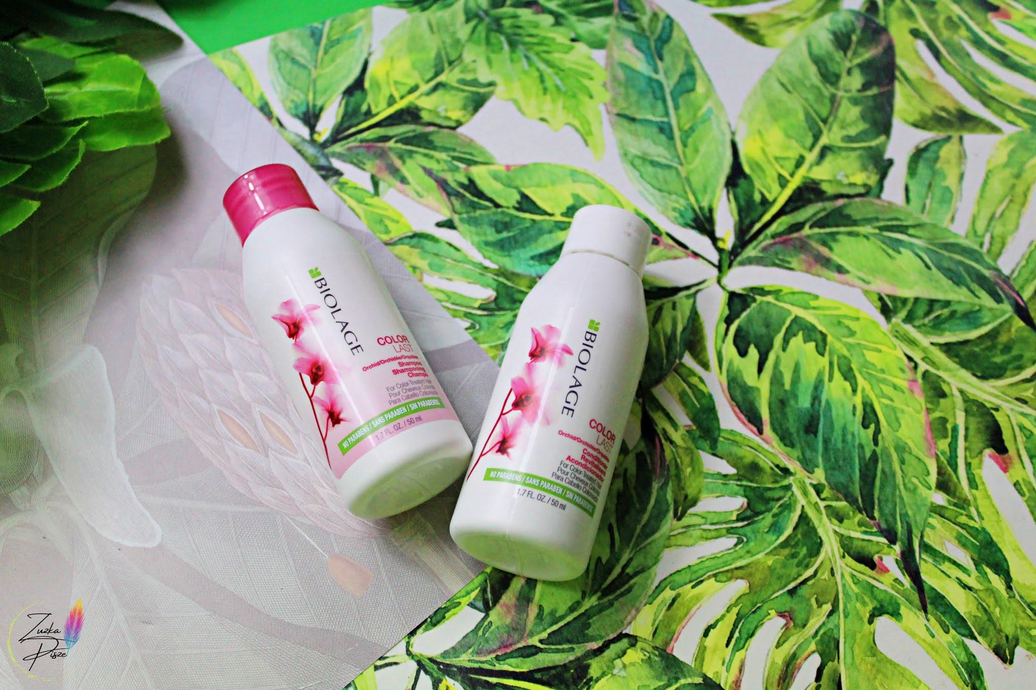 BIOLAGE Colorlast odżywka i szampon do włosów farbowanych