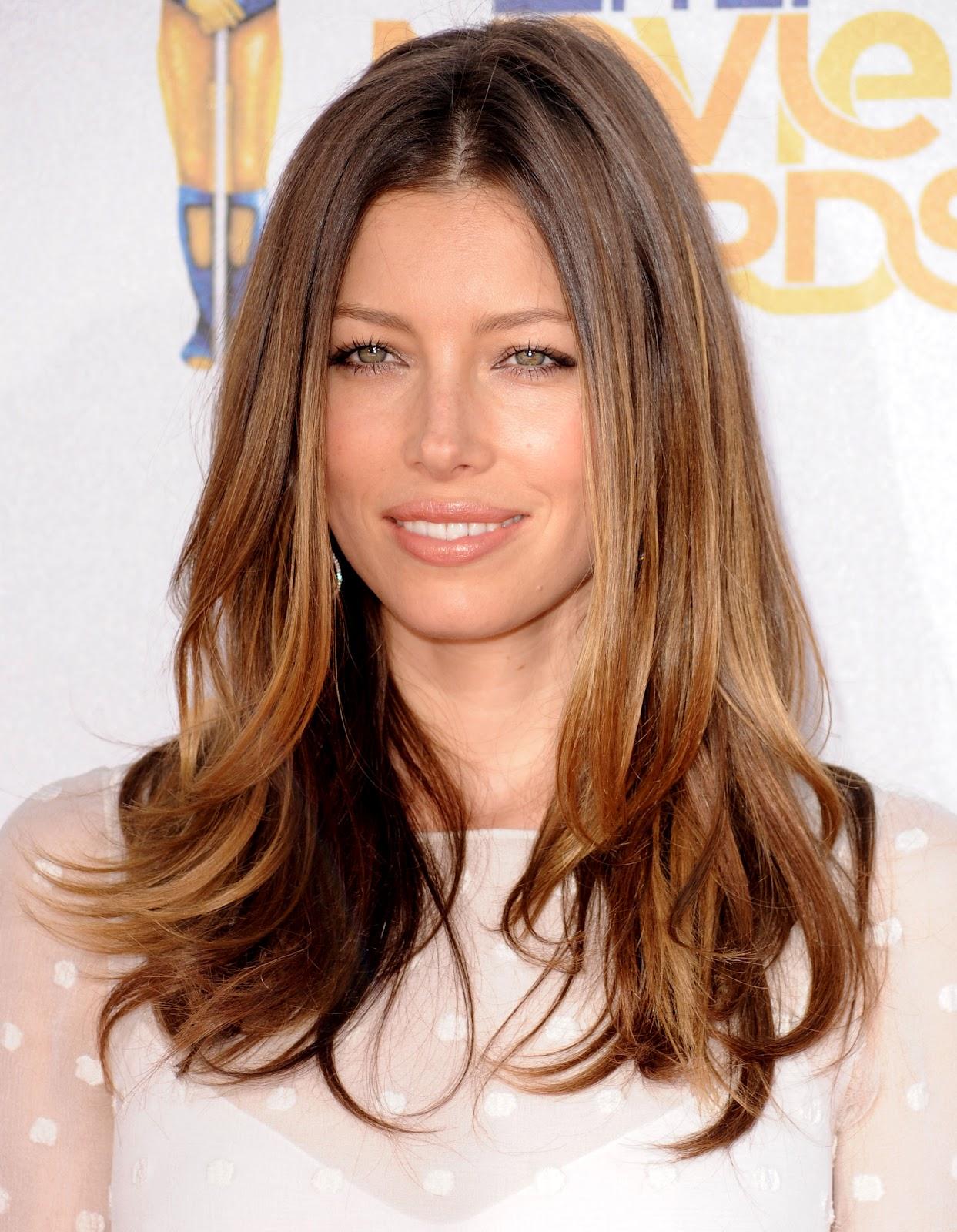 Stupendous Hairstyles Of Jessica Biel Film Actress Angled Bob Hairstyle Short Hairstyles Gunalazisus