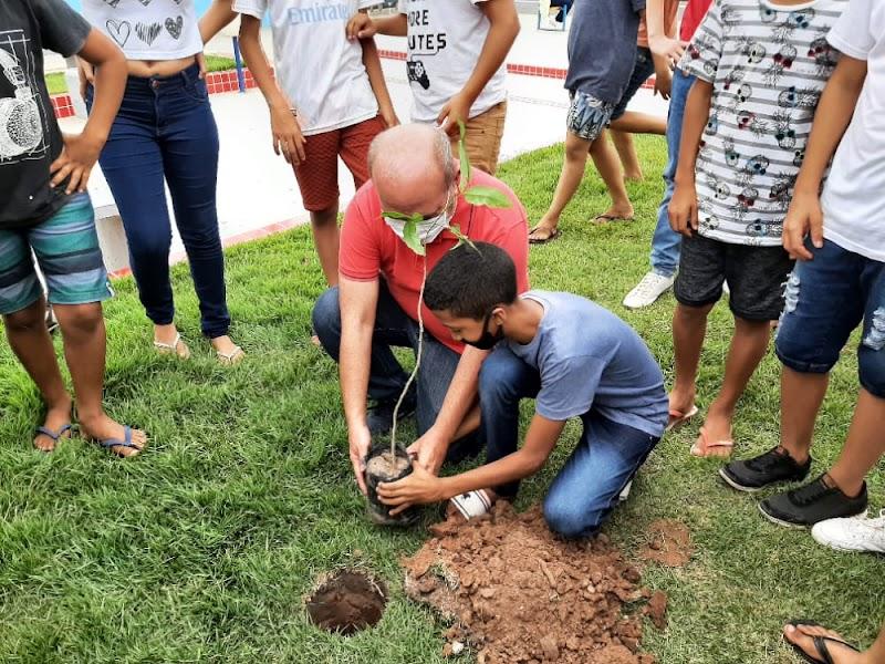 Prefeitura de Igarapé Grande comemora Dia da Árvore com programação especial