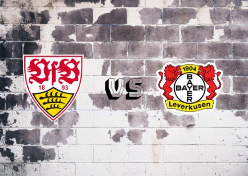 Stuttgart vs Bayer Leverkusen  Resumen