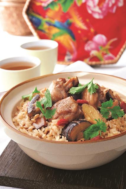 Resepi Ayam Dan Cendawan Dengan Nasi & Oat