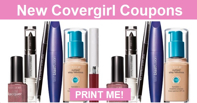 Covergirl Coupons | Save up to $6.00 off
