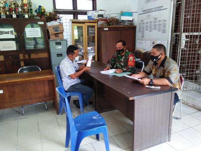 Melalui Koramil 01/Siantar Utara Jajaran Kodim 0207/Simalungun Laksanakan Komsos Dengan Perangkat Desa
