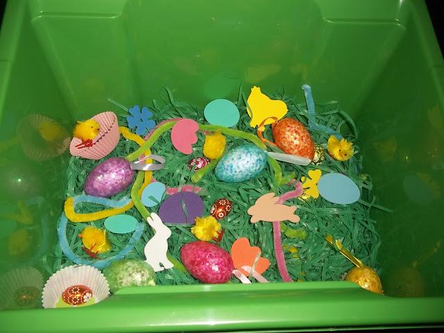 Easter sensory