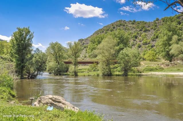 """Crna River at """"Rasim Bey Bridge"""""""