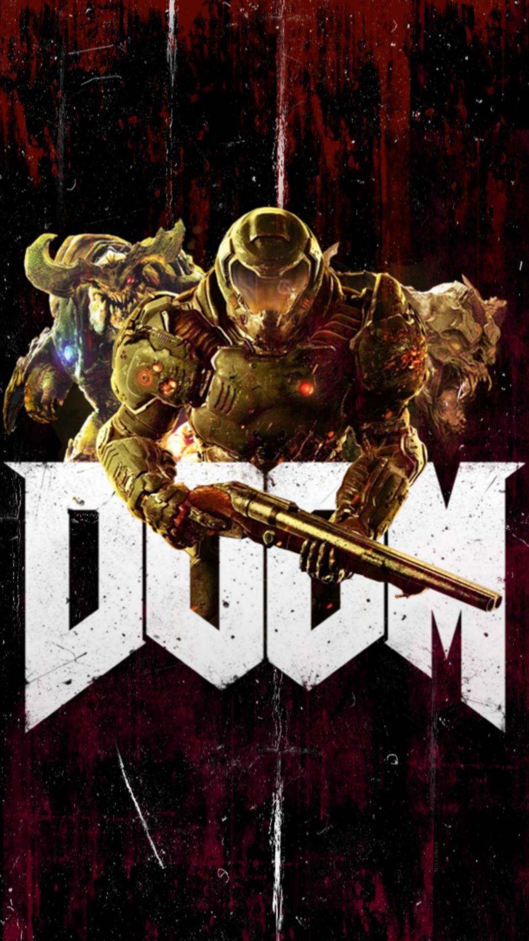 doom eternal wallpaper in 1080p to mobile
